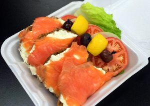 bagels and lox at marina deli reduced
