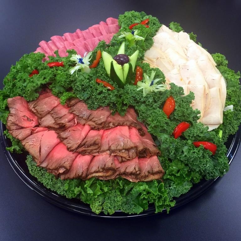 deli meat platters