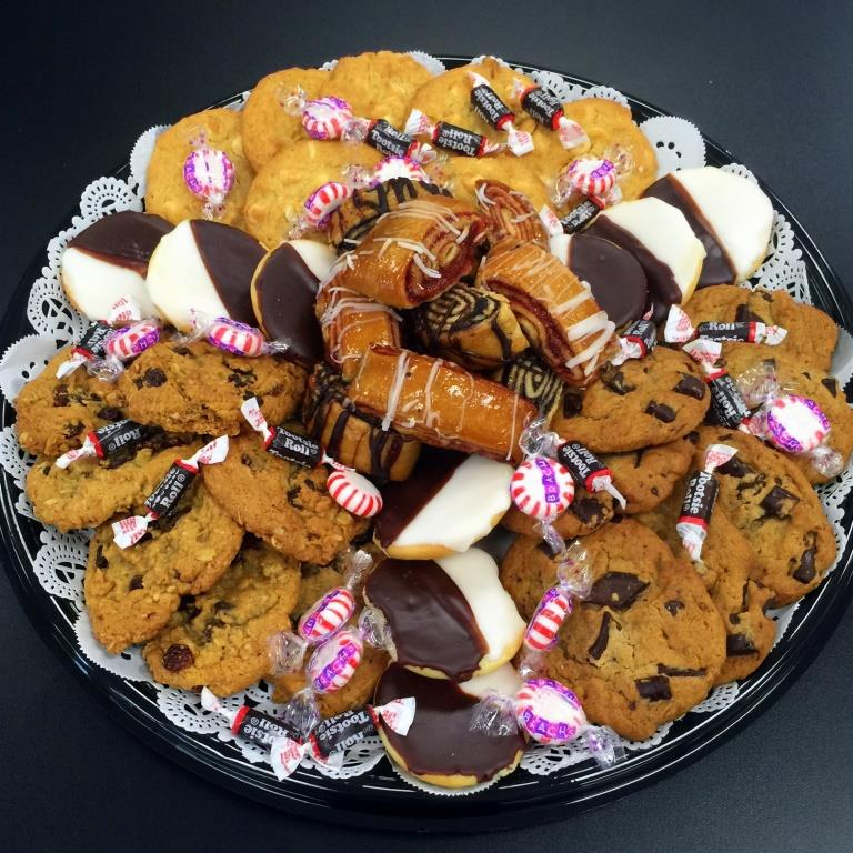 cookie and ruggelach platters