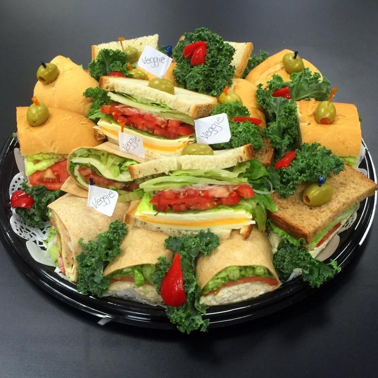 wrap platters