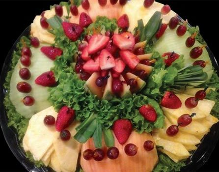 fresh fruit platters